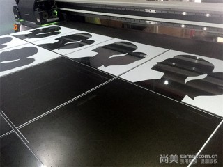 2mm玻璃UV喷印